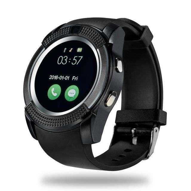 Reloj Smart V8 Sim Chip Bluetooth Memoria Camara Android Ios