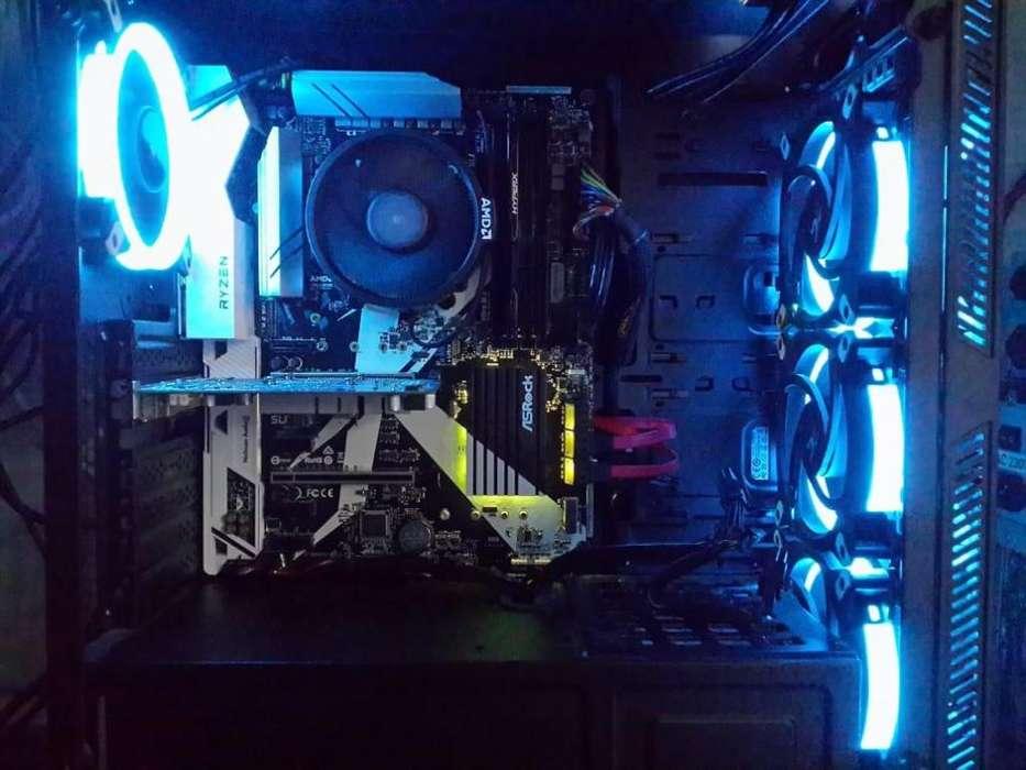 Combo Gamer!! Asrock X370 Killer Sli Am4 M2 Rgb Ryzen 5 2600 3.4ghz Am4 Hyperx Fury 8gb 2400Mhz! Oferta Gamer!!!