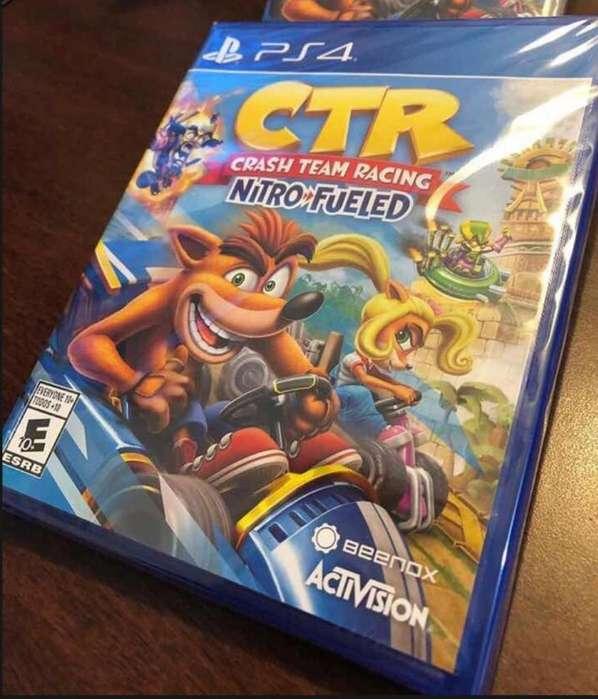 Sellado Crash Team Racing