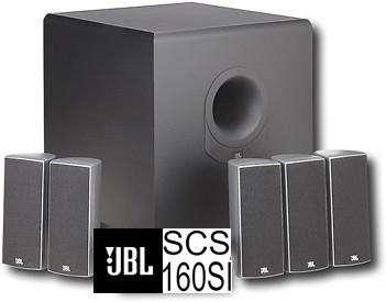 JBL Sub160 5 JBL Sisat160 5.1 Home Theater