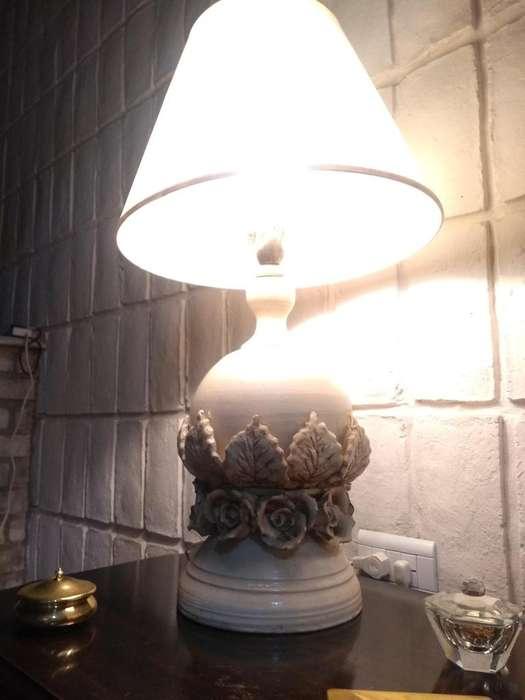 2 <strong>lamparas</strong> DE CERAMICA HERMOSO DISEÑO, TAMAÑO MEDIANO A GRANDE