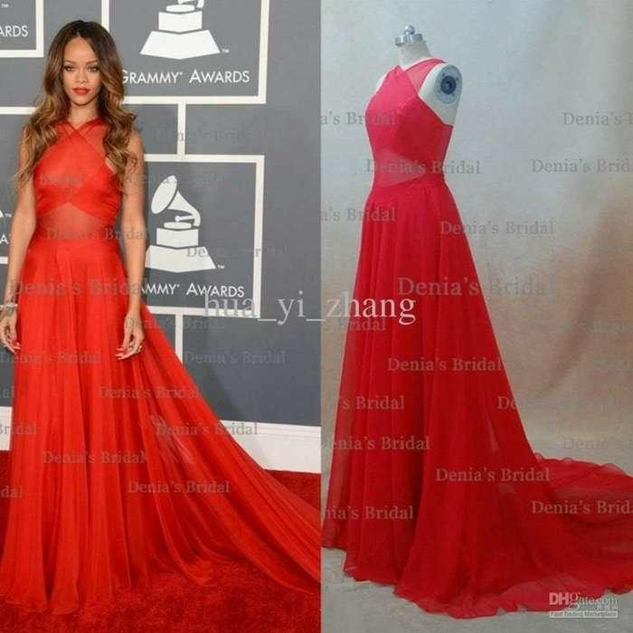 Vestido Rojo Egresada