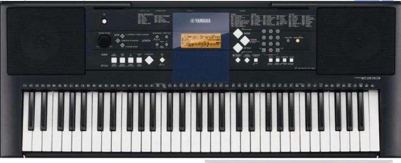Piano Yamaha modelo PSRE333