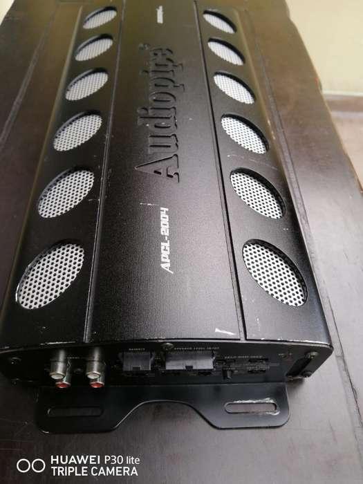 Amplificador Audiopipe