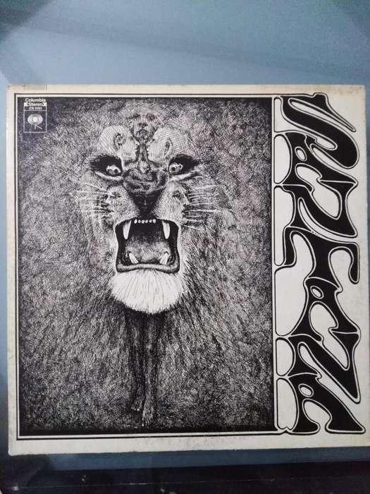 Lp Vinilos Discos, Carlos Santana Printed Usa 80 Originales De Epoca Venta