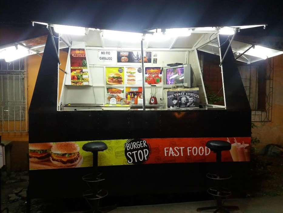 Vendo Camper en Fucionamiento Food Truck