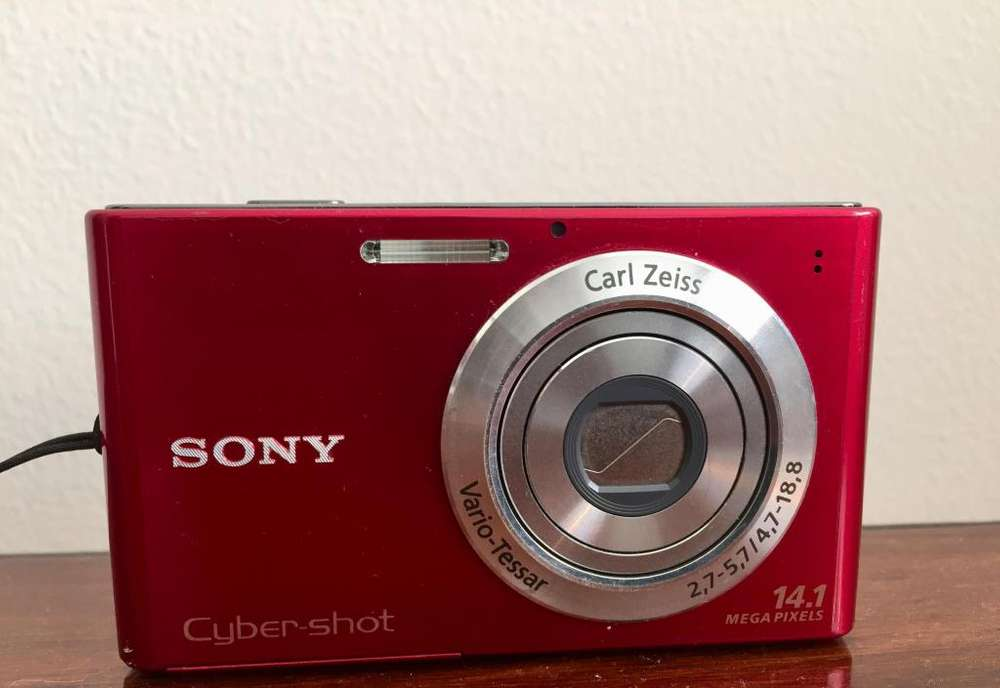 Sony Camara Digital Dsc-w800 Cybershot 14.7