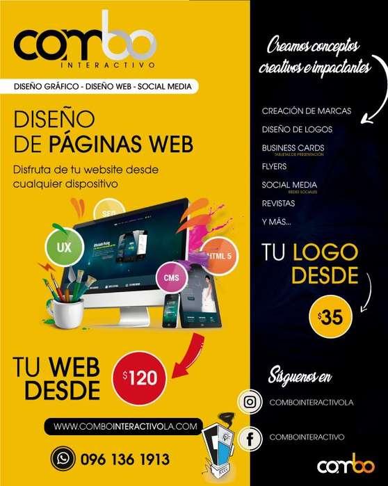 Diseño de Logotipos / Social Media / Diseño de páginas web
