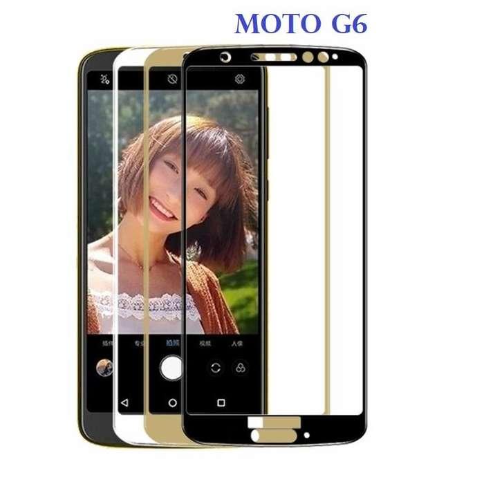 Vidrio 6d Motorola Moto G6 9h Borde A Borde Curvos Full Hd