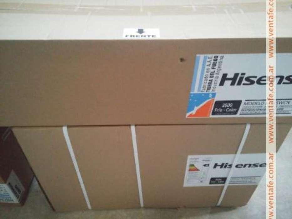 Split Hisense 3500w Nuevo Frio Calor