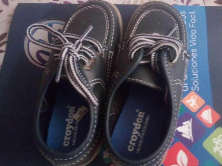 Zapatos Colejiales Talla 27 3125253524