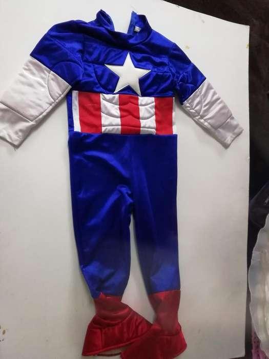 Disfraz Del Capitán América