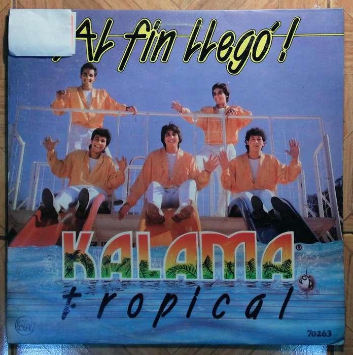 disco vinilo Kalama tropical al fin llego
