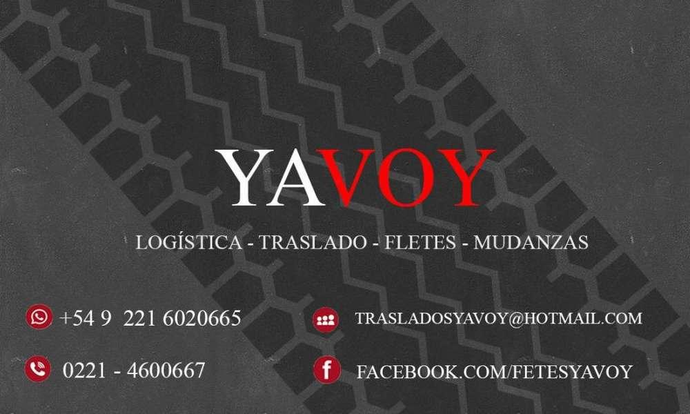 Flete YAVOY Ensenada - Berisso - La Plata