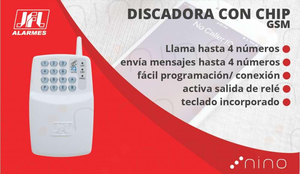 Discadora GSM con teclado
