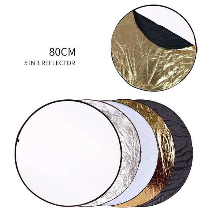 Disco Reflector <strong>flex</strong> 5 En 1 De 80cm Con Estuche Nuevo
