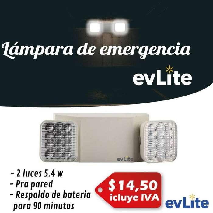Lampara De Emergencia Led. MARCA LEDEX / MAVIJU / EVERGREEN / EVLITE. Luces De Emergencia. Bomberos