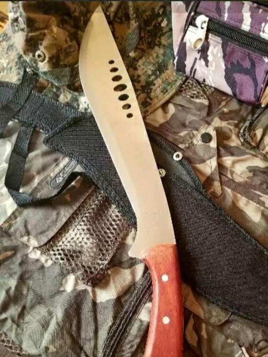 Cuchillo Machete Tactico Ox Head Kukri