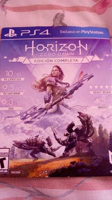 Horizon Zero Dawn Ps4 Completa Usada