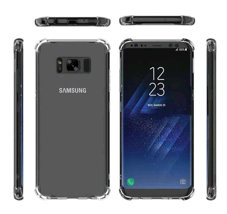 Protector Silicona Antigolpes Galaxy S8p