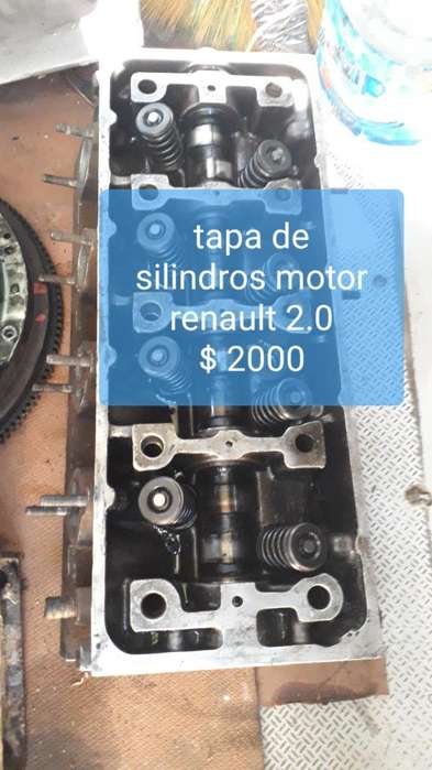 Tapa de cilindros de motor Renault 20