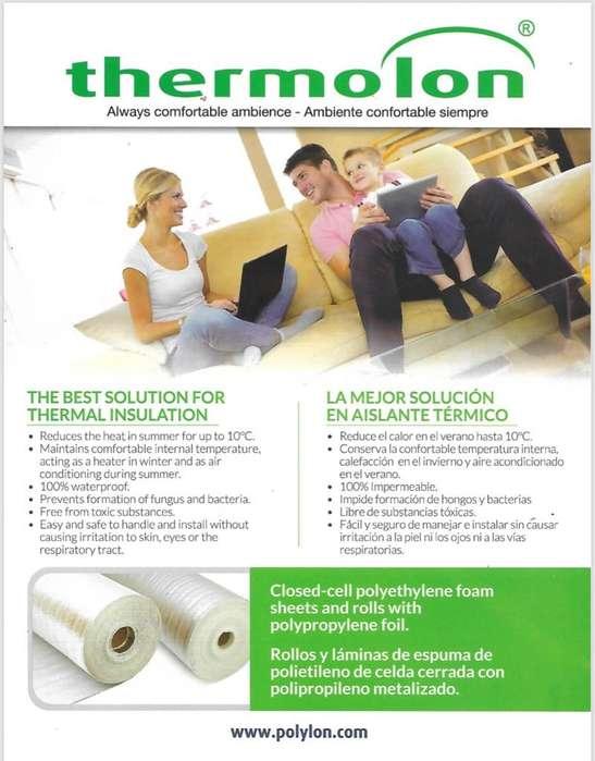 Thermolon reduce el calor en verano.