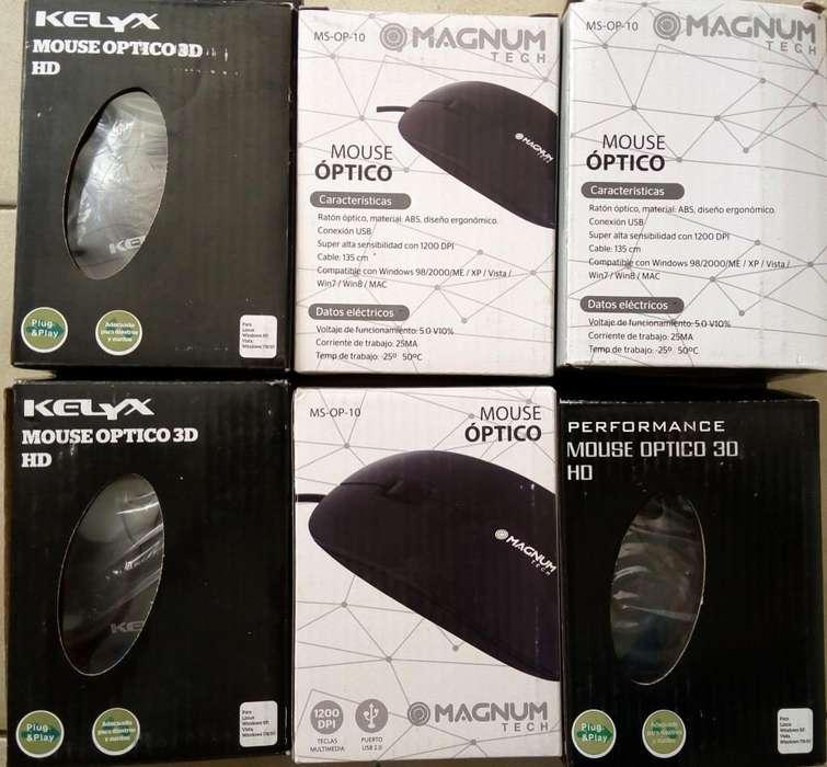Últimos 6! Mouse optico para PC Notebook USB