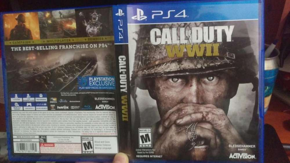 Venta / Cambio Call of Duty WWII Español Latino
