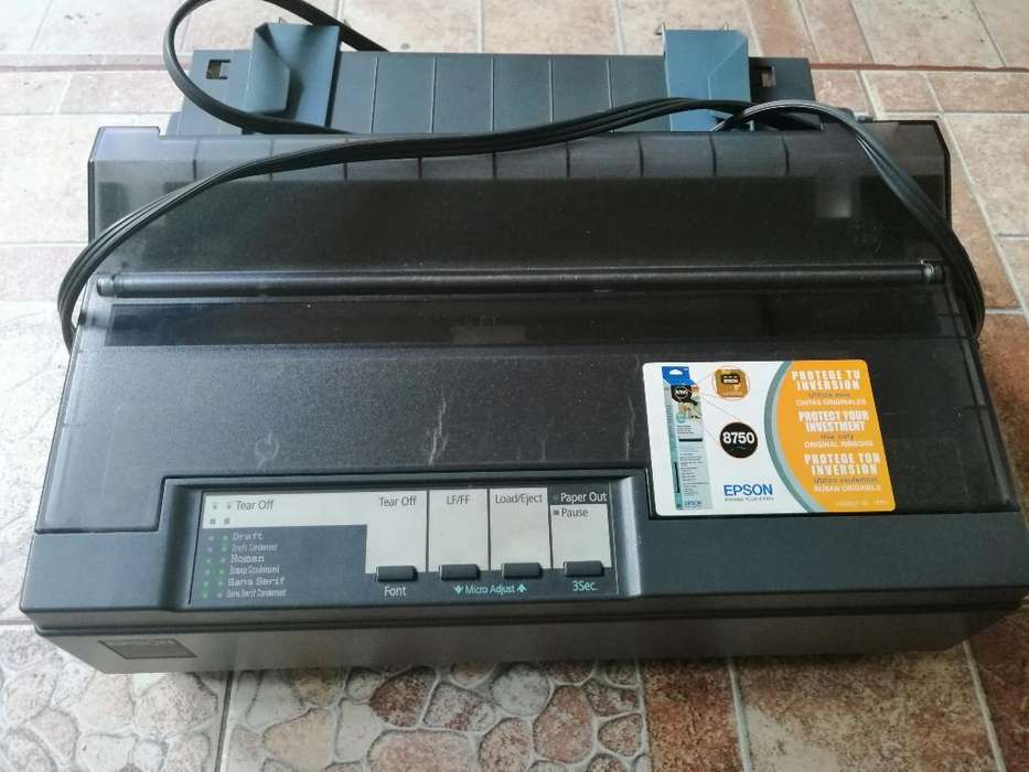 Venta Impresora de Punto Epson Lx-300ii