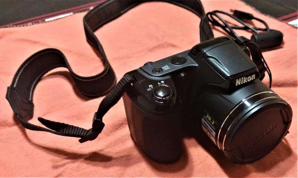 Camara Nikon Coolpix L340 20.2mp 28x