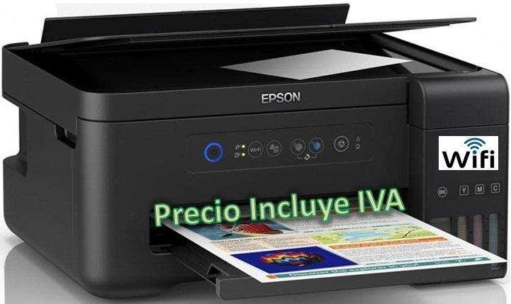 Impresora Epson L395 L4150 L375 Sistema Tinta Continua Original Wifi PRECIO INCLUYE IVA ENTREGA A DOMICILIO