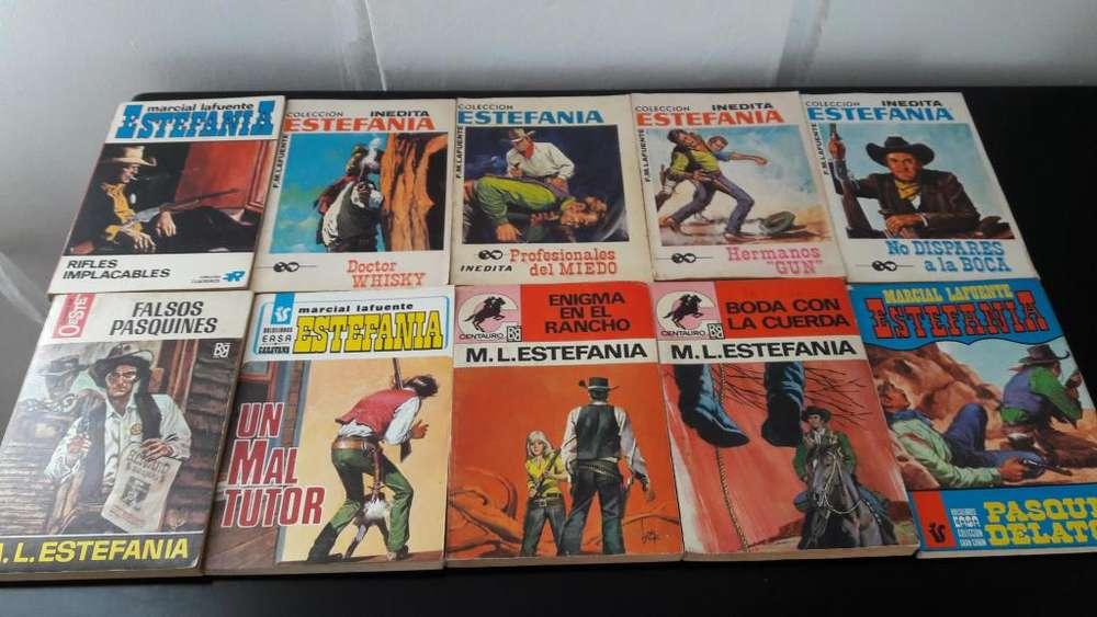 Libros Colección Marcial Lafuente Estefania