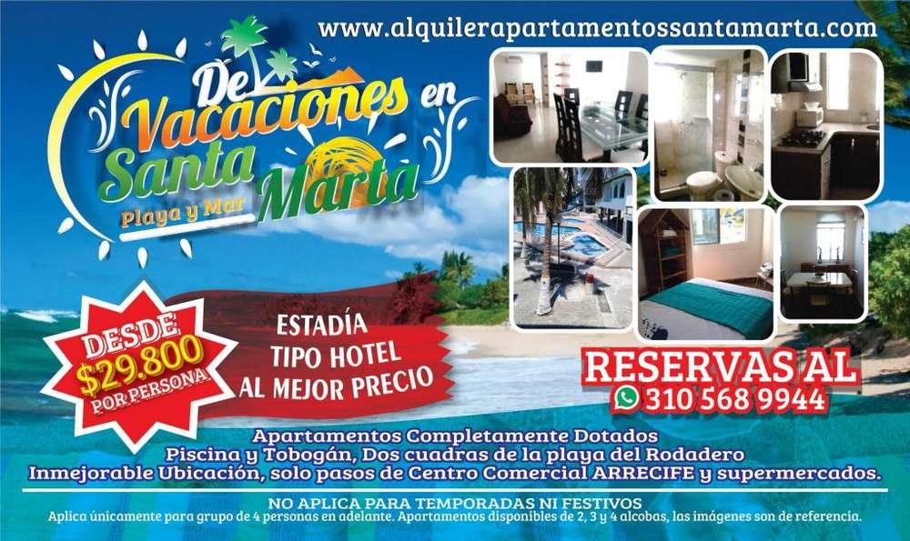 Arriendo <strong>apartamento</strong>s Santa Marta Rodadero Alquiler por Días