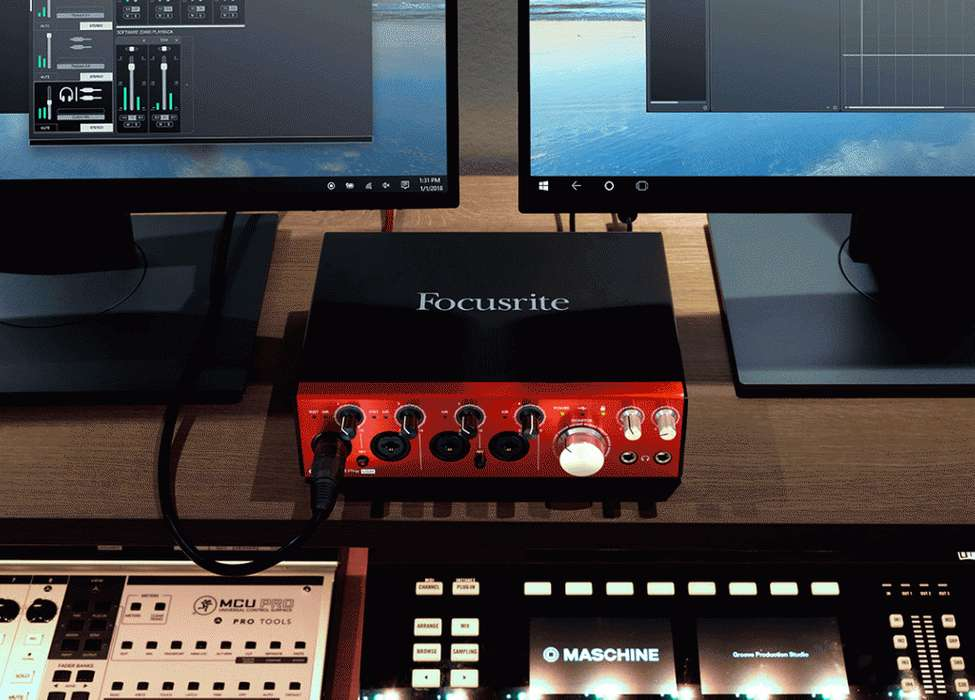 Interfaz Focusrite Clarett 4pre Usb CON ENVIO