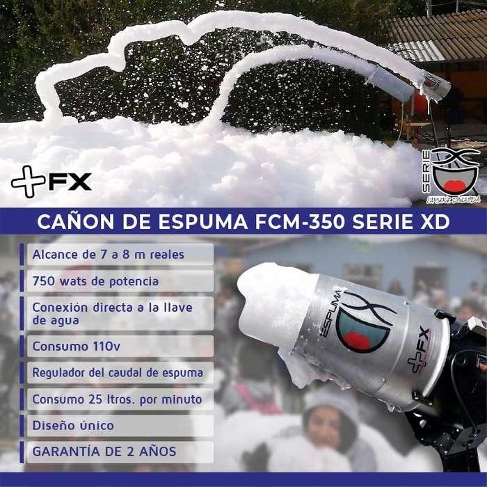 CAÑON DE ESPUMA / ESPUMA DE COLORES PARA FIESTAS / CAÑON POTENETE DE ESPUMA