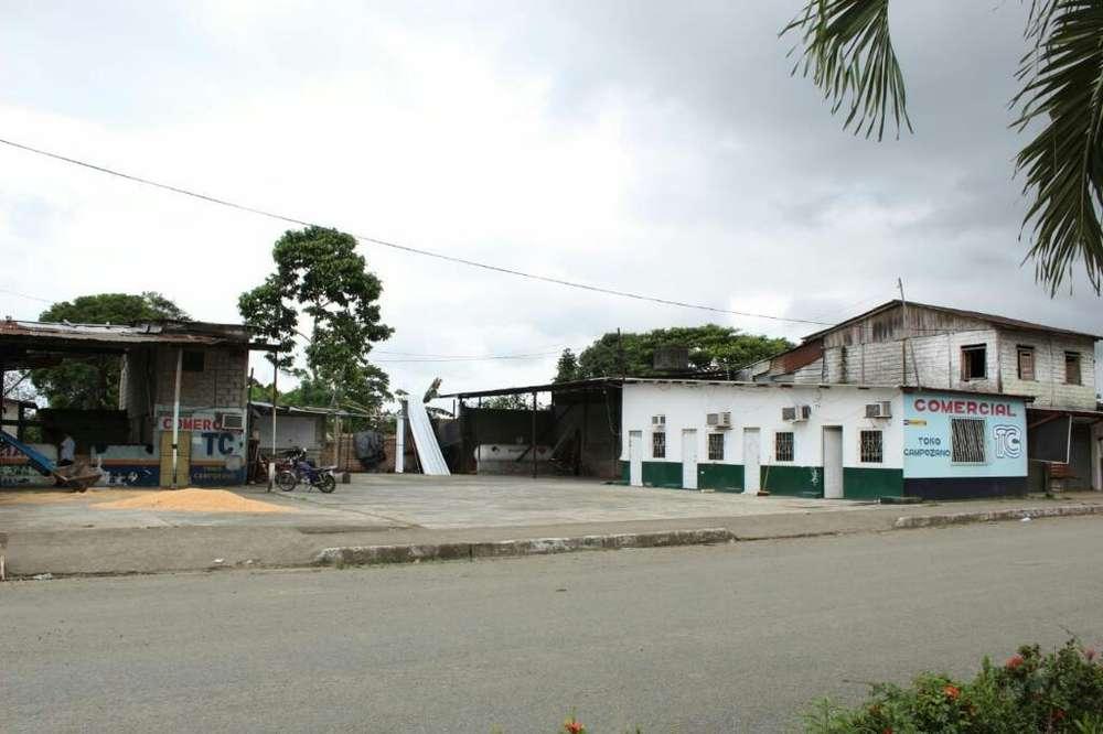 Vendo Comercial en Mocache. Av. Triviño