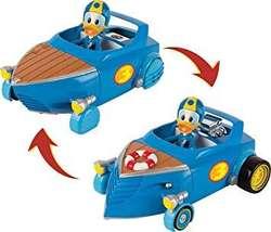 Mickey y Los Superpilotos Vehículo Transformable Donald