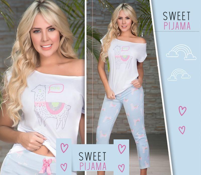 592dc416d pijama en algodón para jovenes chicas con estilo