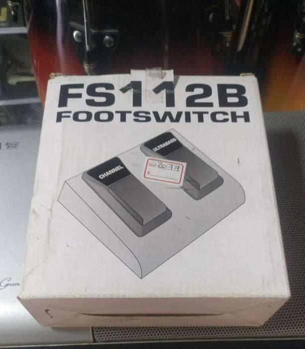 Pedal Footswitch Fs112B Behringe