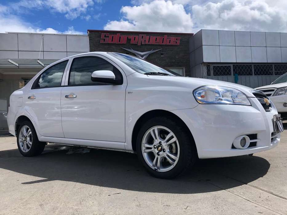 Chevrolet Aveo 2017 - 23600 km