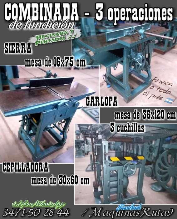 COMBINADA DE DE CARPINTERÍA Ø máquinas de carpintería - fábrica de muebles - ebanista