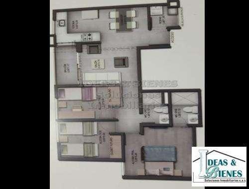 <strong>apartamento</strong> en Venta Medellín Sector Loma Los Bernal: Código 847068