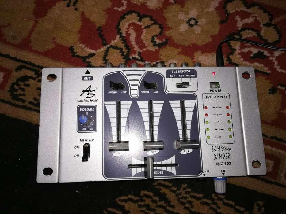 Mixer 3 Canales