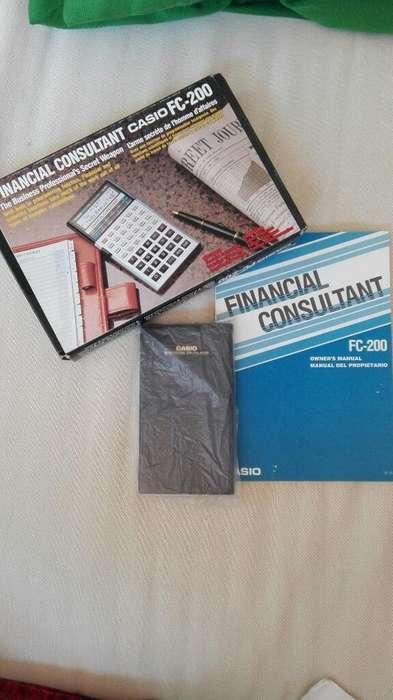 <strong>calculadora</strong> Financiera Casio