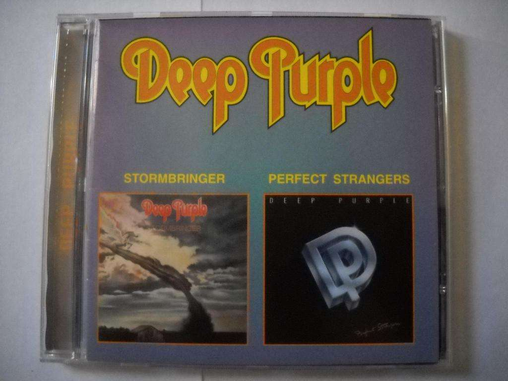 deep purple stormbringer / perfect strangers cd impecable