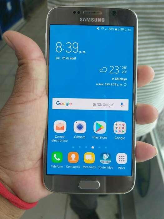 Samsung S6 Semi Nuevo