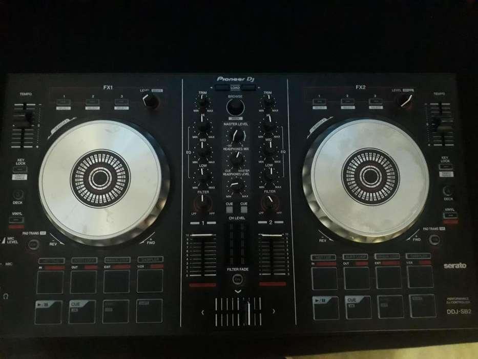 Controlador Ddj Sb2 Mas 27 Gb de Musica
