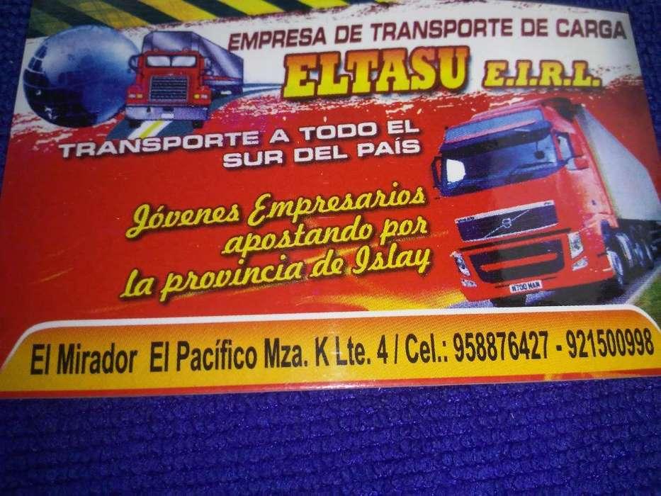 Servicio de Transporte de Carga Mollendo