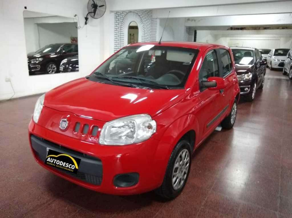 Fiat Uno 1.4 attractive 5p 2013 unico! , Autodesco