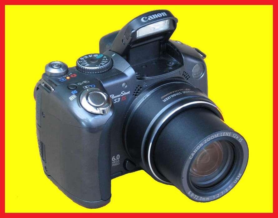 Camara <strong>canon</strong> PowerShot S3 IS para Fotografia y Video con Visor Fijo Pantalla escualizable y 13 modos de captura